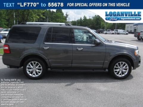2016 Ford Expedition for sale at Loganville Ford in Loganville GA