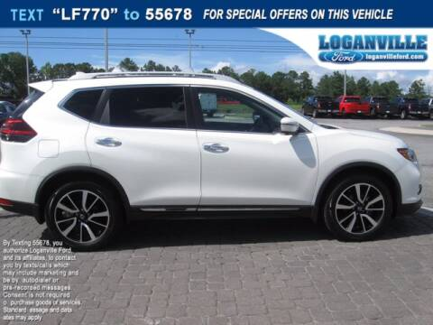 2019 Nissan Rogue for sale at Loganville Ford in Loganville GA