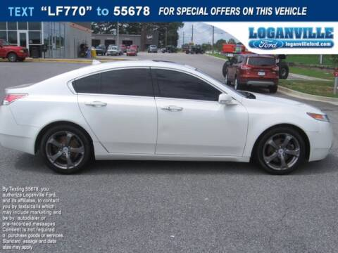 2011 Acura TL for sale at Loganville Ford in Loganville GA