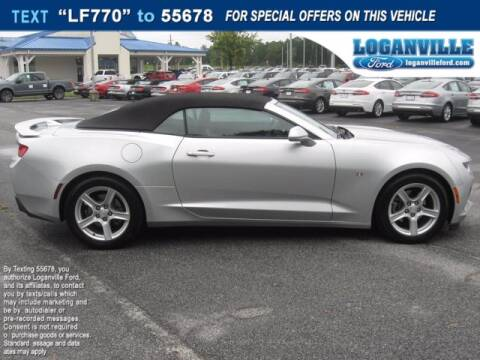 2017 Chevrolet Camaro for sale at Loganville Ford in Loganville GA