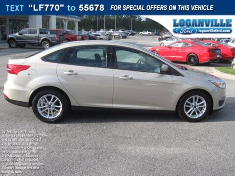 2018 Ford Focus for sale at Loganville Ford in Loganville GA