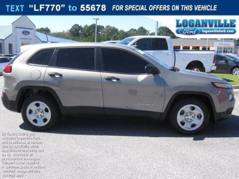 2017 Jeep Cherokee for sale at Loganville Ford in Loganville GA