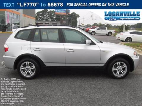 2006 BMW X3 for sale at Loganville Ford in Loganville GA