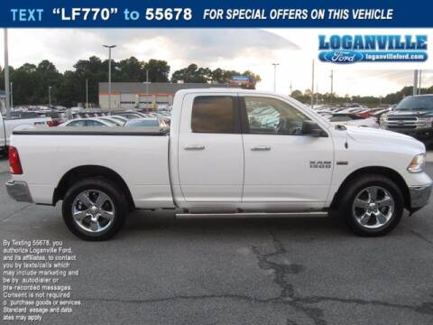 2016 RAM Ram Pickup 1500 for sale at Loganville Ford in Loganville GA
