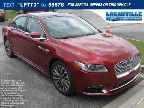 2017 Lincoln Continental for sale at Loganville Ford in Loganville GA