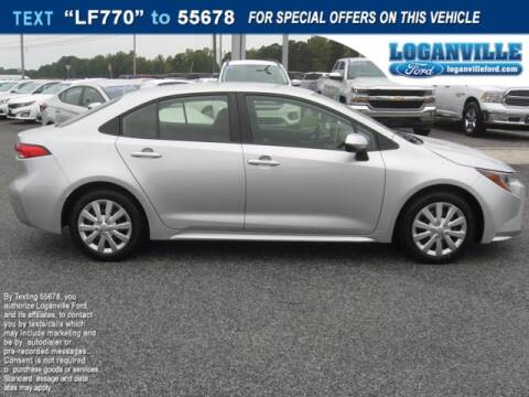 2020 Toyota Corolla for sale at Loganville Ford in Loganville GA