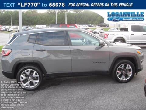 2019 Jeep Compass for sale at Loganville Ford in Loganville GA