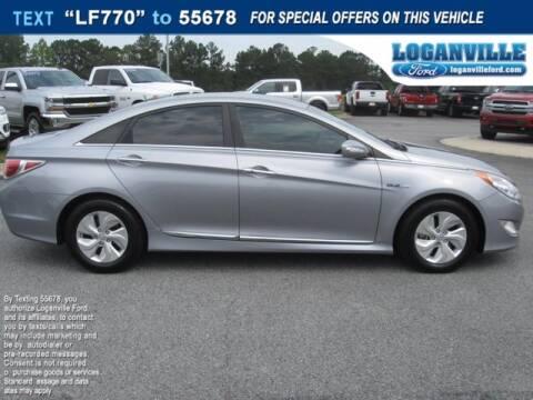 2015 Hyundai Sonata Hybrid for sale at Loganville Ford in Loganville GA