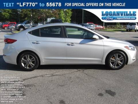 2018 Hyundai Elantra for sale at Loganville Ford in Loganville GA