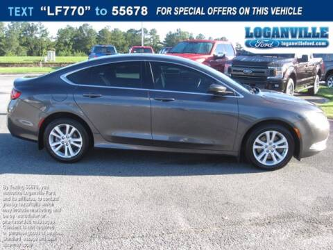 2016 Chrysler 200 for sale at Loganville Ford in Loganville GA
