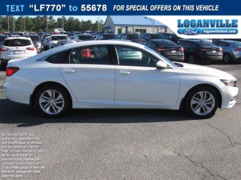 2020 Honda Accord for sale at Loganville Ford in Loganville GA