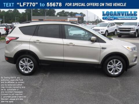 2018 Ford Escape for sale at Loganville Ford in Loganville GA