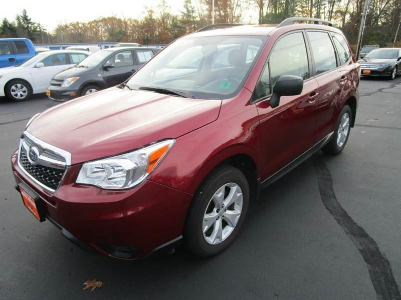 2016 Subaru Forester for sale at Grimard's Auto in Hooksett, NH