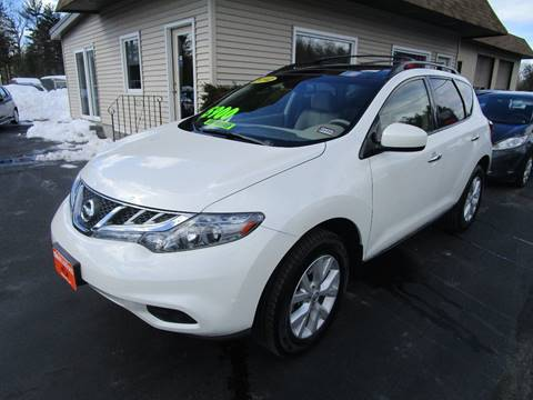 2012 Nissan Murano for sale at Grimard's Auto in Hooksett, NH