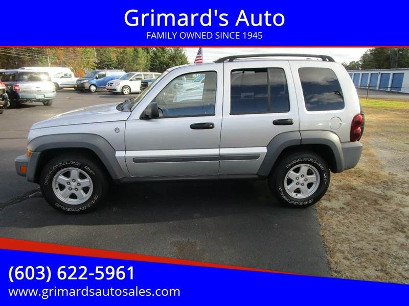 2005 Jeep Liberty for sale in Hooksett,, NH