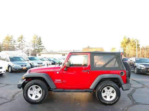 2010 Jeep Wrangler for sale in Hooksett,, NH