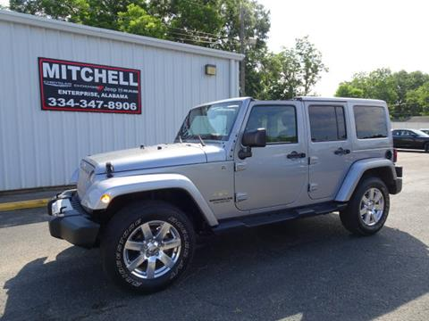 2015 Jeep Wrangler Unlimited for sale in Enterprise, AL