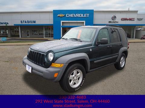 2006 Jeep Liberty Sport >> 2006 Jeep Liberty For Sale In Salem Oh