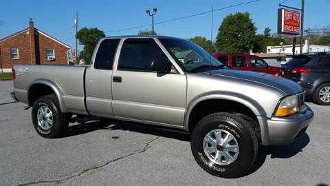 2003 GMC Sonoma for sale in Shoemakersville, PA