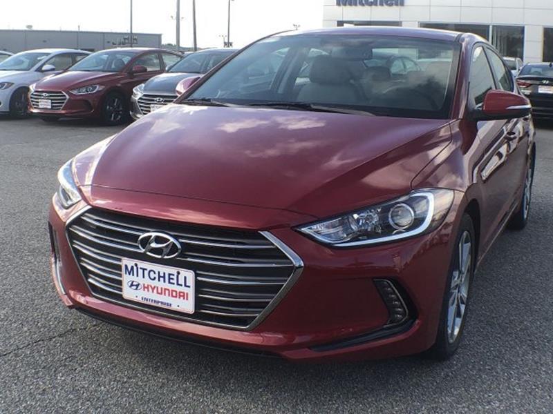 2018 Hyundai Elantra Limited In Enterprise Al Mitchell Hyundai