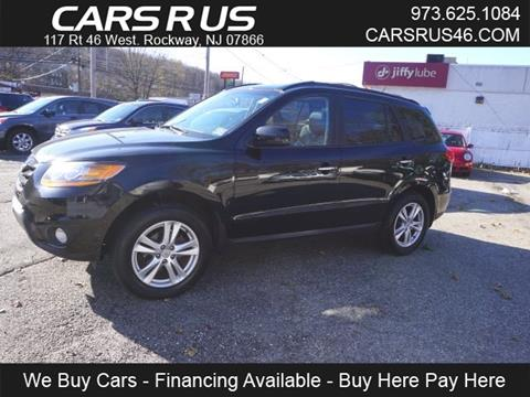 2010 Hyundai Santa Fe for sale in Rockaway, NJ