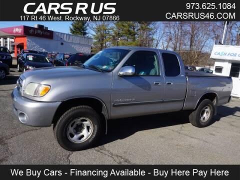 2004 Toyota Tundra SR5 for sale at Cars R Us in Rockaway NJ