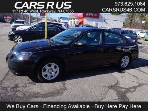 2006 Nissan Altima 2.5 S for sale at Cars R Us in Rockaway NJ