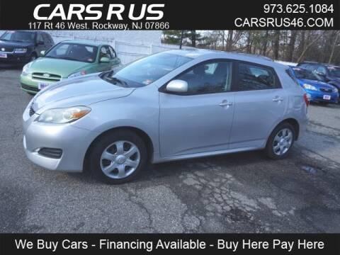 2009 Toyota Matrix for sale at Cars R Us in Rockaway NJ