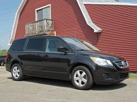 2010 Volkswagen Routan for sale at Red Barn Motors, Inc. in Ludlow MA