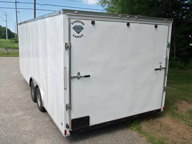 2018 Diamond Cargo 20 Ft Enclosed Car Hauler V NOSE In Ludlow MA