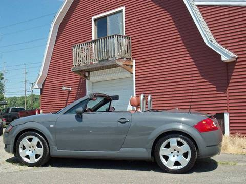 2001 Audi TT for sale at Red Barn Motors, Inc. in Ludlow MA