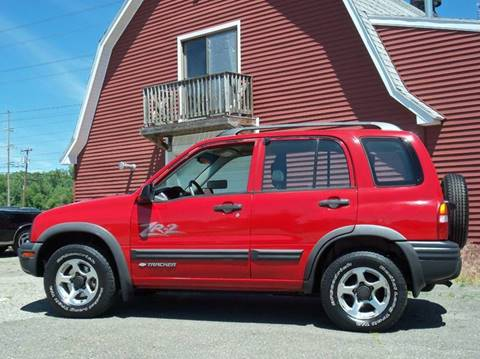 2003 Chevrolet Tracker For Sale In Ludlow Ma