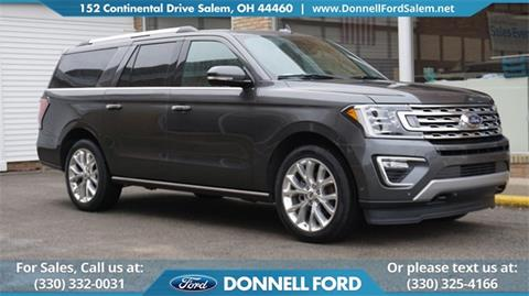 2018 Ford Expedition MAX for sale in Salem, OH