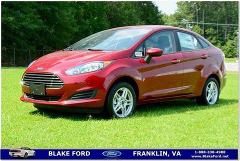 2017 Ford Fiesta for sale in Franklin, VA