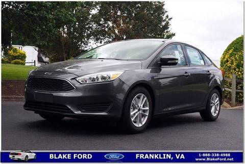 2017 Ford Focus for sale in Franklin, VA