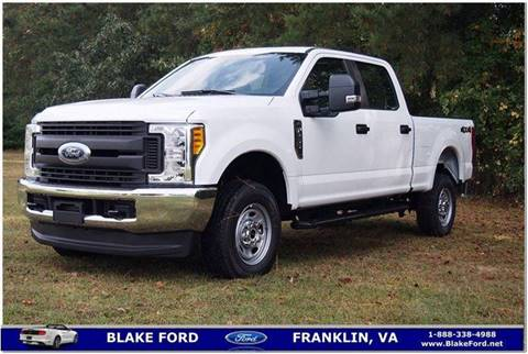 2017 Ford F-250 Super Duty for sale in Franklin, VA