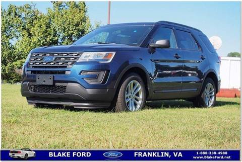 2017 Ford Explorer for sale in Franklin, VA