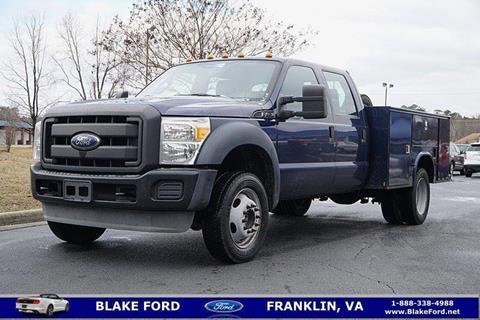 2012 Ford F-450 Super Duty for sale in Franklin, VA