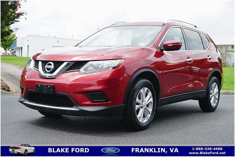 2015 nissan rogue awd sv 4dr crossover in franklin va blake ford. Black Bedroom Furniture Sets. Home Design Ideas