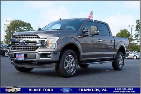 Ford Of Franklin >> Blake Ford Car Dealer In Franklin Va