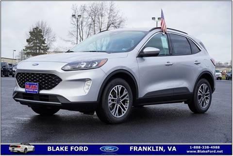 2020 Ford Escape for sale in Franklin, VA