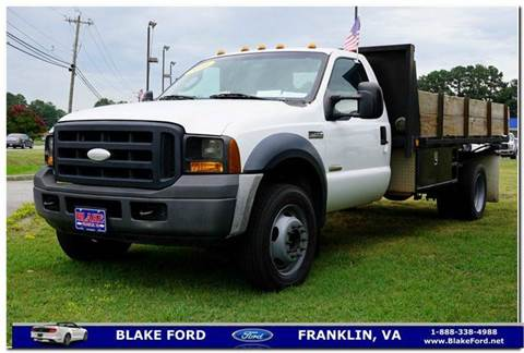 2006 Ford F-450 for sale in Franklin, VA