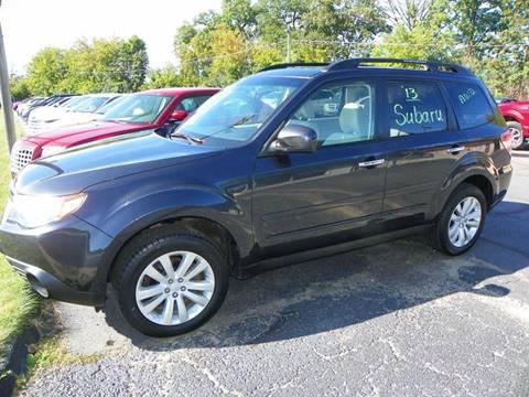 2013 Subaru Forester for sale in Jackson, MI