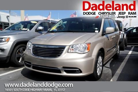 2014 Chrysler Town and Country for sale in Miami, FL