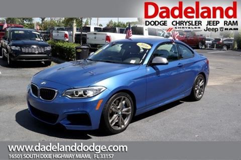 2016 BMW 2 Series for sale in Miami, FL