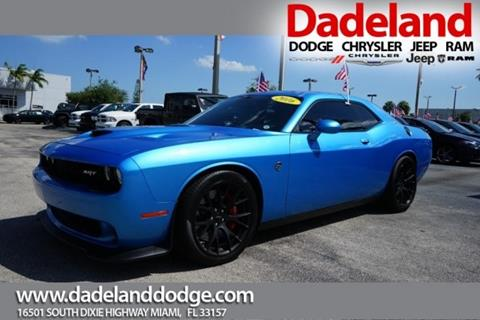2016 Dodge Challenger for sale in Miami, FL