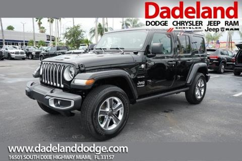 2019 Jeep Wrangler Unlimited for sale in Miami, FL