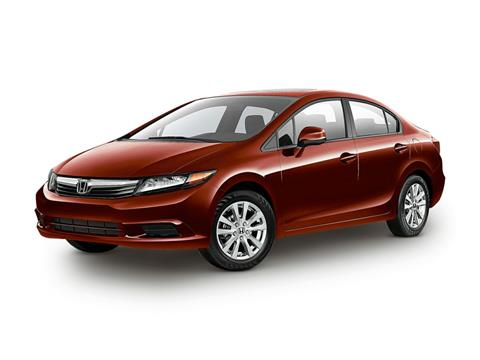2012 Honda Civic EX-L for sale at CHEVROLET OF SMITHTOWN in Saint James NY
