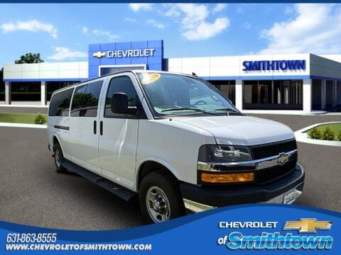 2019 Chevrolet Express Passenger for sale at CHEVROLET OF SMITHTOWN in Saint James NY
