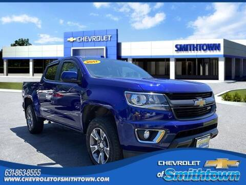 2017 Chevrolet Colorado for sale at CHEVROLET OF SMITHTOWN in Saint James NY